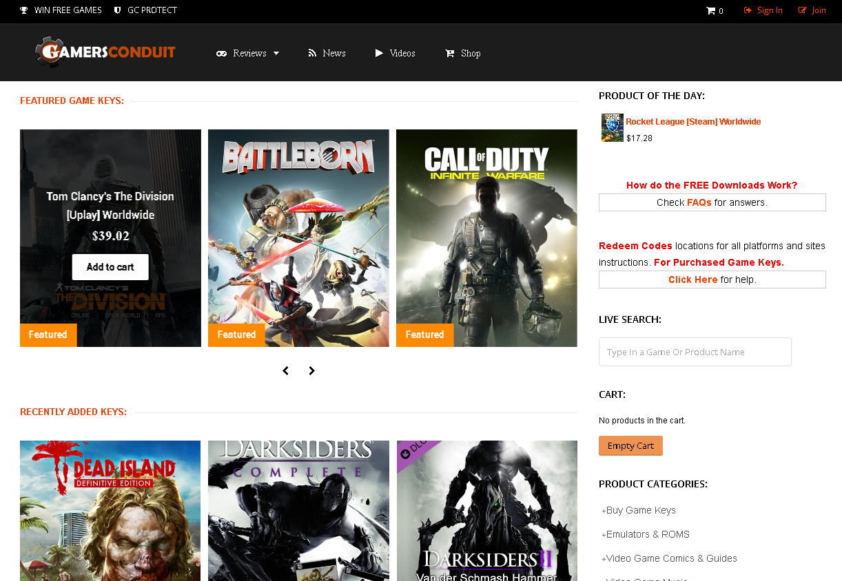 GamersConduit Making Game Purchases Cheaper